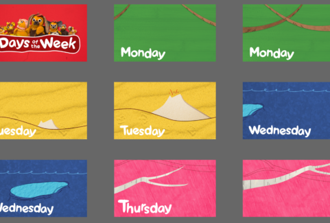 Days of the Week Boards